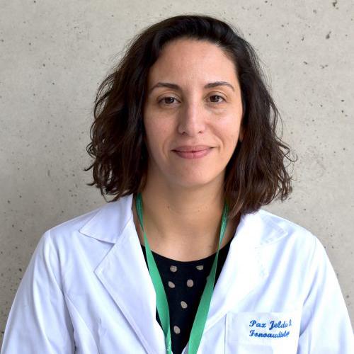 Flga. Paz Jeldes Díaz, MS